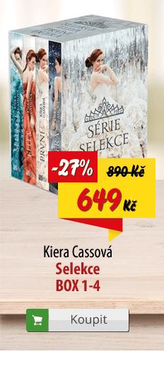Kiera Cassová Selekce komplet knih