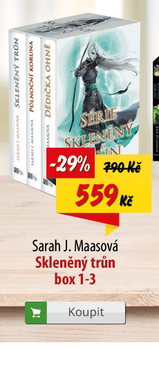 Sarah J. Maasová Skleněný trůn komplet knih