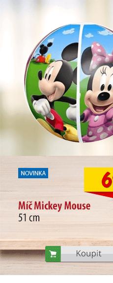 Nafukovací míč Mickey Mouse