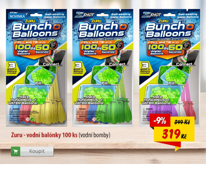 Zuru vodní balonky