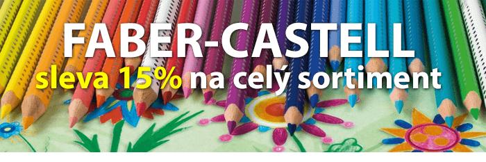 Faber-Castell sleva 15%