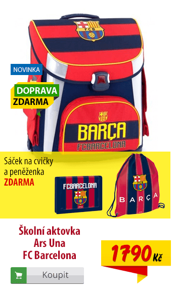 Aktovka Ars Una FC Barcelona