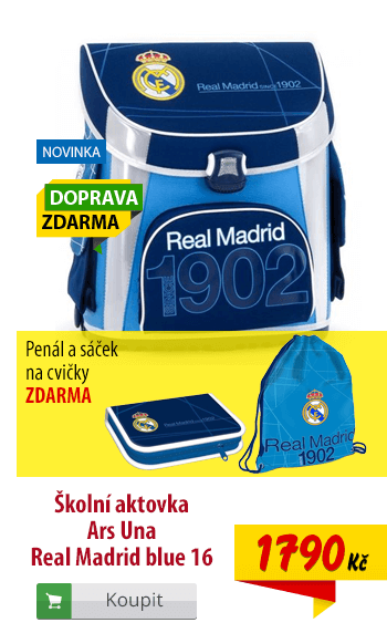 Aktovka Ars Una Real Madrid