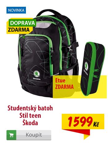 Studentský batoh Stil teen Škoda