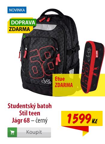 Studentský batoh Stil teen Jágr 68