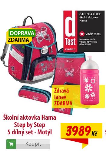 Aktovka Hama Step by Step Motýl