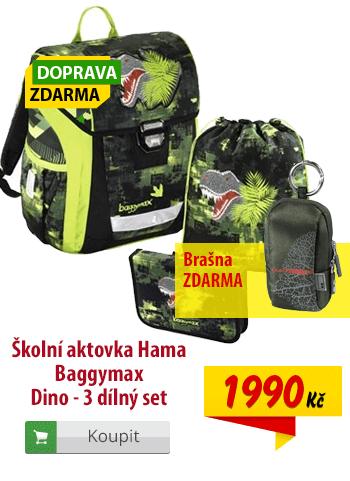 Aktovka Hama Baggymax Dino