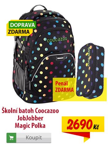 Batoh Coocazoo JobJobber Magic Polka