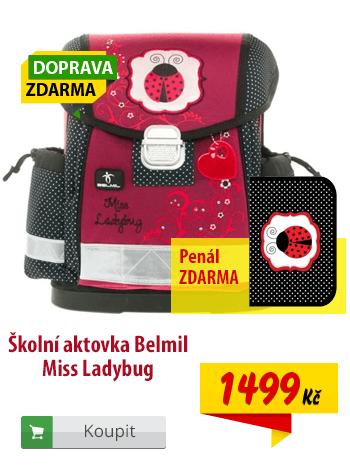 Aktovka Belmil Miss Ladybug