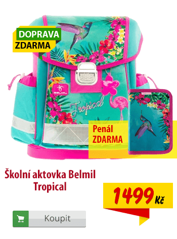 Aktovka Belmil Tropical