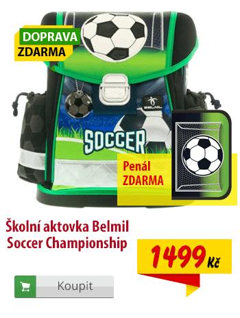 Aktovka Belmil Soccer Championship