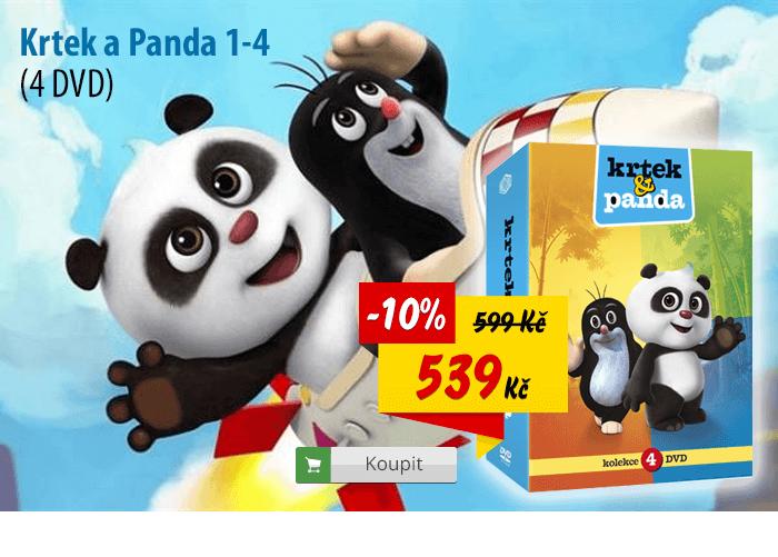 Krtek a Panda DVD