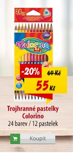 Trojhranné pastelky Colorino