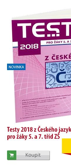 Testy 2018 z ČJ pro 5. a 7. třídu