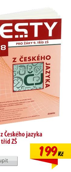 Testy 2018 z ČJ pro 9. třídu