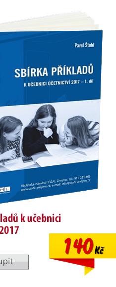 Sbírka příkladů Účetnictví pro SŠ