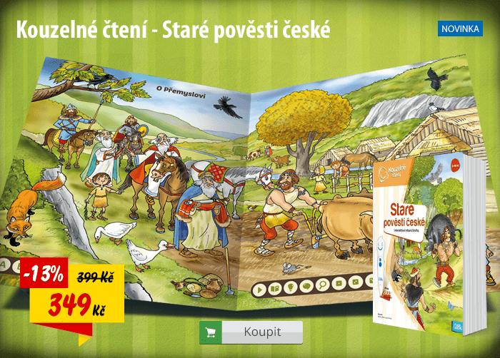 Kouzelné čtení Staré pověsti české