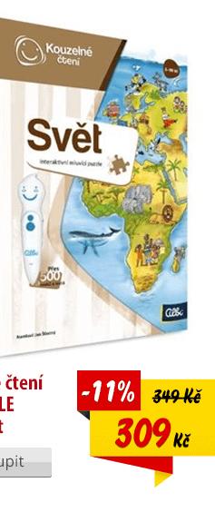 Kouzelné čtení Puzzle Svět