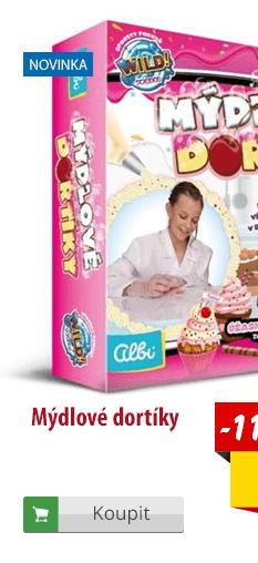 Mýdlové dortíky