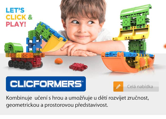 Clicformers stavebnice