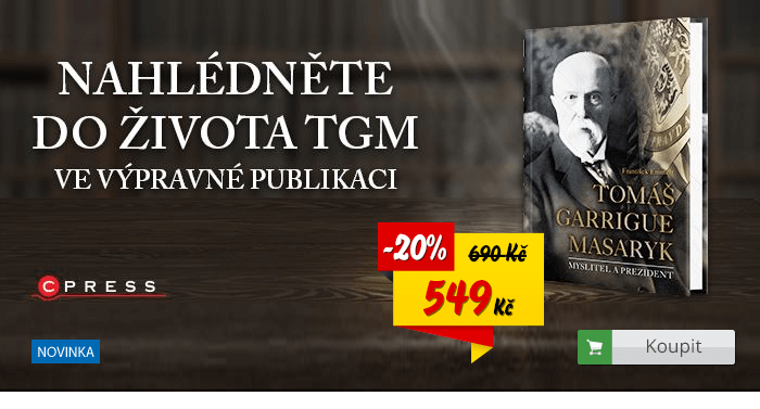 Tomáš Garrigue Masaryk kniha