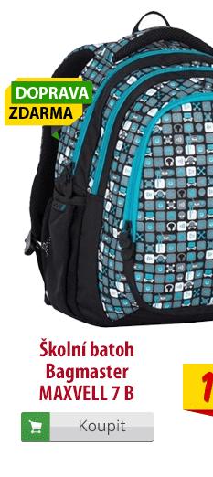 Školní batoh Bagmaster Maxwell