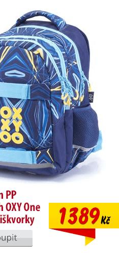 Školní batoh Oxy One Torpedo