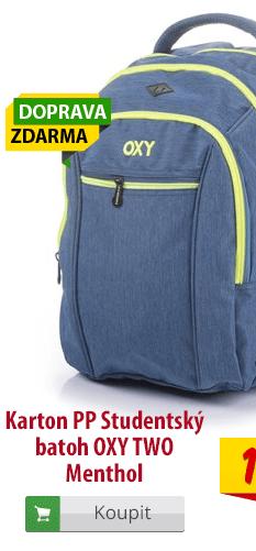 Studentský batoh Oxy Two modrý