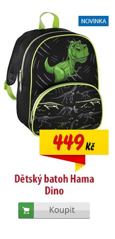 Dětský batoh Hama dinosaurus