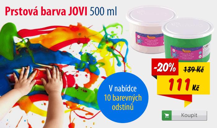 Prstová barva Jovi