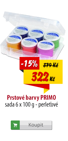 Prstové barvy Primo