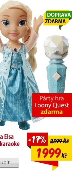 Panenka Elsa zpívající