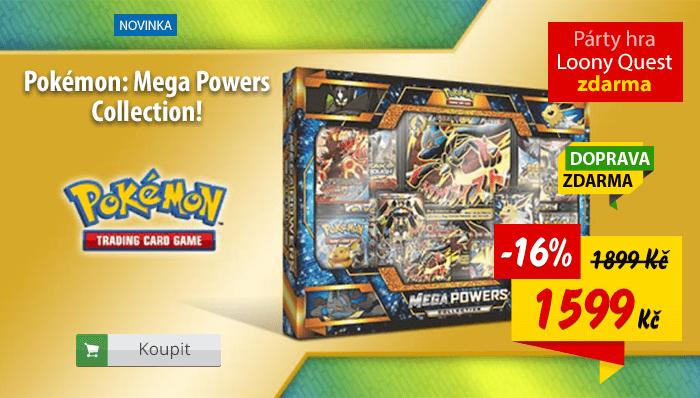 Pokémon Mega Powers kolekce