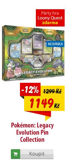 Pokémon Legacy Evolution Pin kolekce