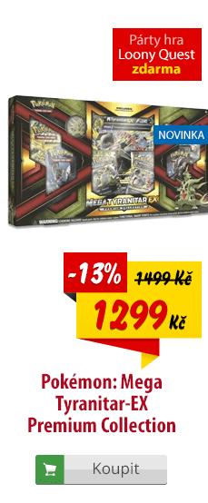 Pokémon Mega Tyranitar-EX Premium kolekce