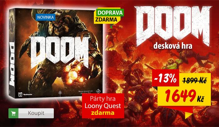 Desková hra Doom