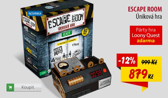 Escape room hra