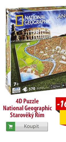 4D puzzle National Geographic Starověký Řím
