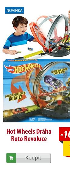 Hot Wheels dráha Roto revoluce
