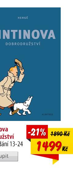 Tintinova dobrodružství komplet
