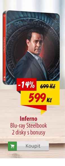 Inferno Blu-ray
