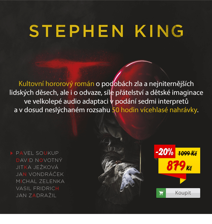 Stephen King To audiokniha