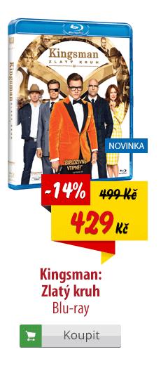 Kingsman Zlatý kruh Blu-ray
