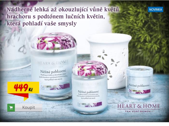 Svíčka Heart & Home Pohlazení