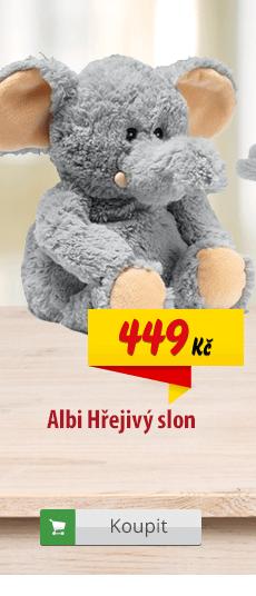 Hřejivý slon Albi