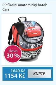 PP Školní anatomický batoh Cars