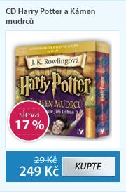 CD Harry Potter a Kámen mudrců