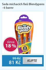 Sada míchacích fixů Blendypens - 6 barev