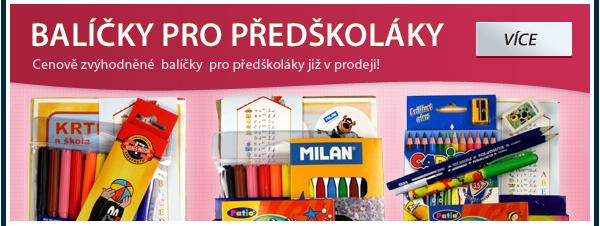 Balíčky pro předškoláky