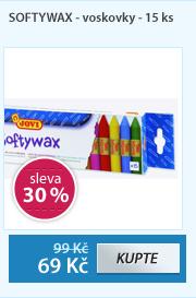 SOFTYWAX - voskovky - 15 ks